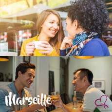 Speed Dating Gays/Lesbiennes à Marseille