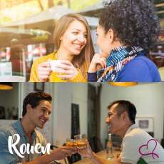 Speed Dating Gays/Lesbiennes à Rouen
