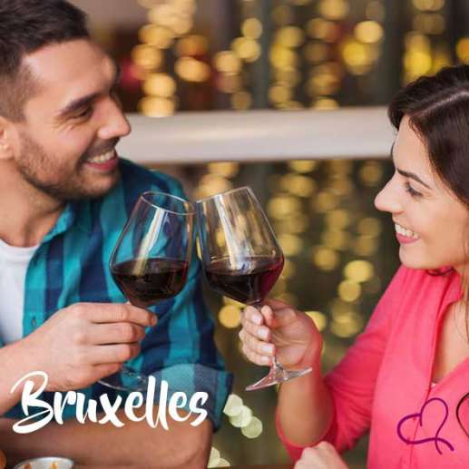Speed Dating à Bruxelles le samedi 16 octobre 2021 à 18h15