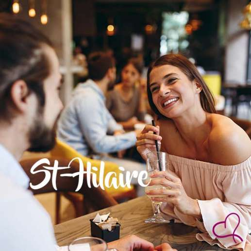 Speed Dating à Saint-Hilaire le mardi 25 février 2020 à 20h30