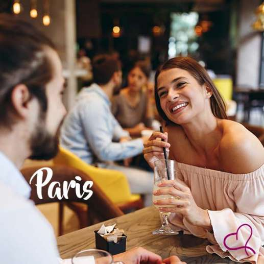Speed Dating à Paris le lundi 25 janvier 2021 à 20h30