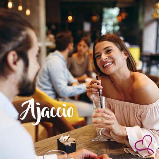 Speed Dating à Ajaccio le vendredi 08 octobre 2021 à 20h00