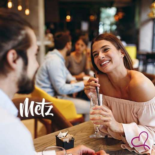 Speed Dating à Metz le vendredi 10 septembre 2021 à 20h15
