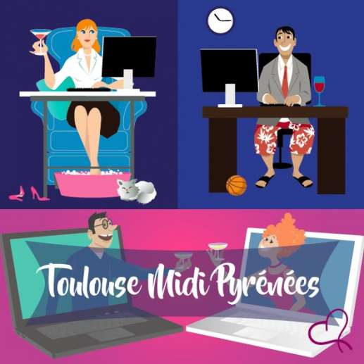 Vidéo Speed Dating à Toulouse le mercredi 26 mai 2021 à 21h15