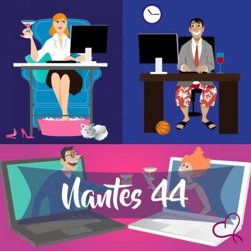Vidéo Speed Dating à Nantes le vendredi 29 janvier 2021 à 21h00