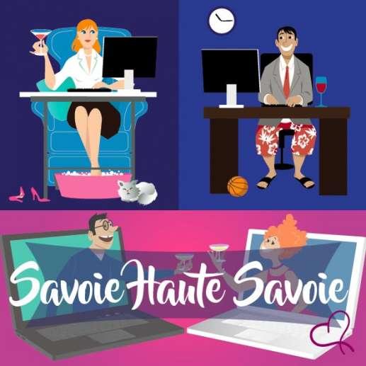 Vidéo Speed Dating en Pays de Savoie le samedi 13 mars 2021 à 21h00