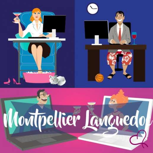 Vidéo Speed Dating en Languedoc le mercredi 21 avril 2021 à 21h15