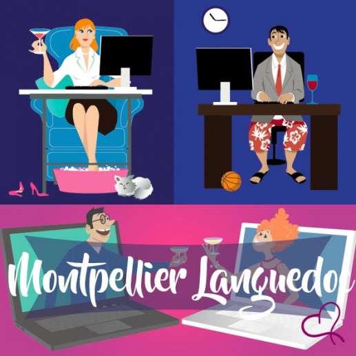 Vidéo Speed Dating en Languedoc le dimanche 14 février 2021 à 20h30