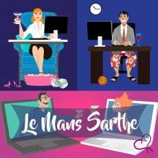 Vidéo Speed Dating en Sarthe