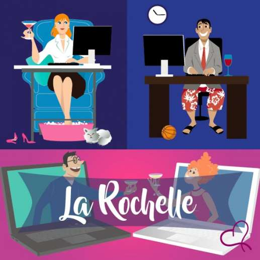 Vidéo Speed Dating en Charente-Maritime