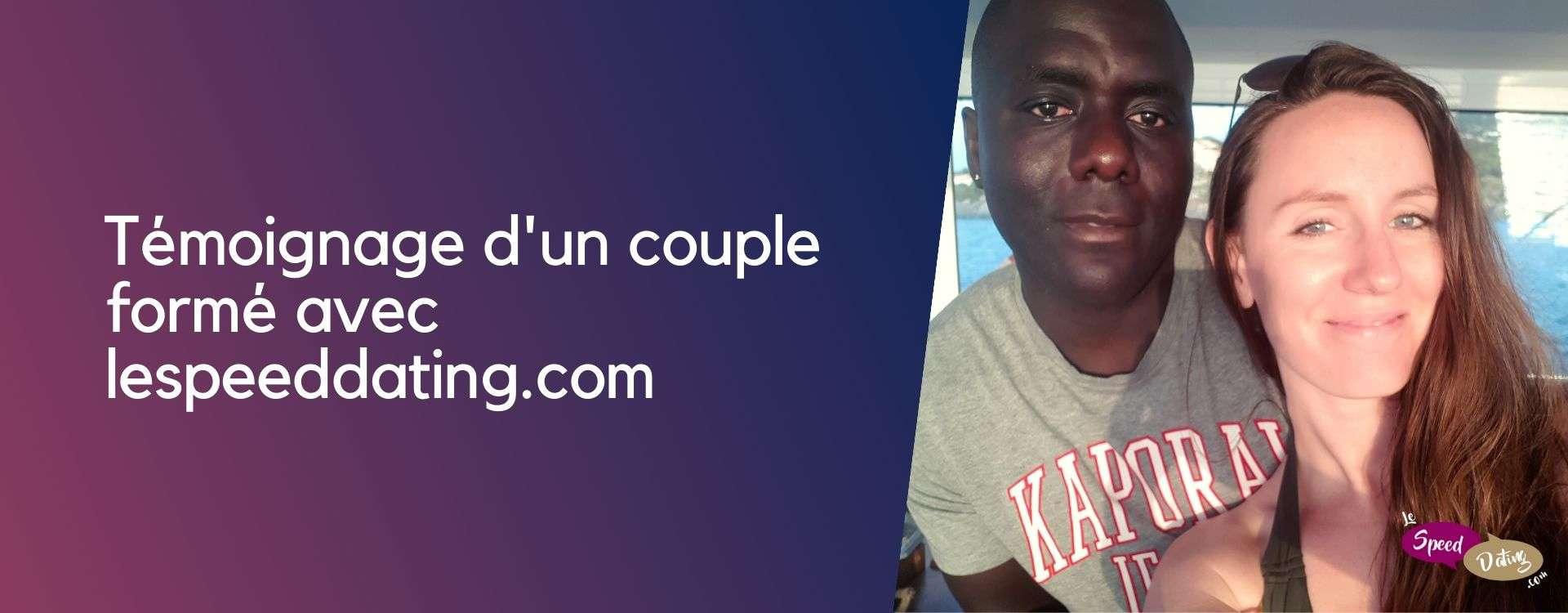 Un couple formé en Speed dating : témoignage de Stéphanie et Willy