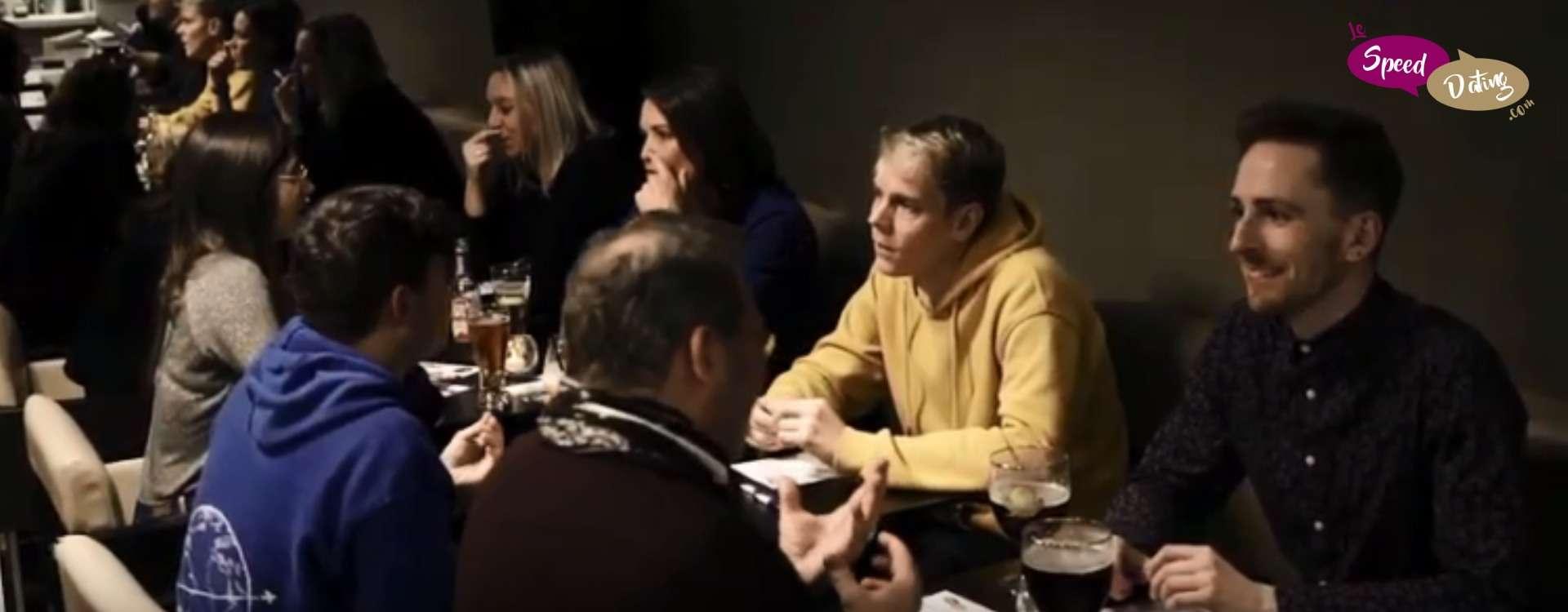 Vidéo d'un speed dating Gays & Lesbiennes